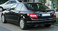 Mercedes C 200 Kompressor Elegance (W204) rear 20100603.jpg