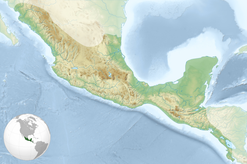 File:Mesoamerica topographic map-blank.svg
