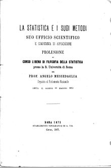 Copertina di un libro sulla statistica del 1872 (