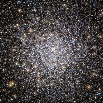 Serpens - Messier 5, a globular cluster that can be seen with the naked eye under good conditions