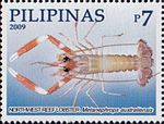 Metanephrops australiensis 2009 stamp of the Philippines.jpg