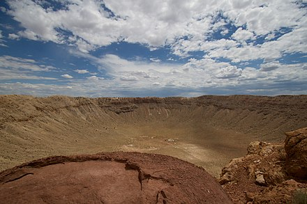 Meteor Crater, 2010 Mteor Crater Under a Big Sky.jpg