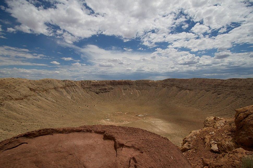 Meteor Crater Under a Big Sky 2010