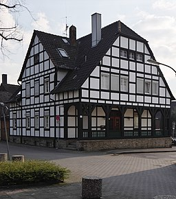 Lutherplatz in Kamen