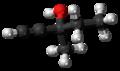 Methylpentynol molecule ball.png