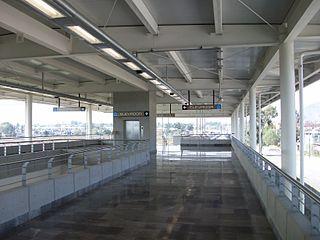 Metro Tlaltenco Mexico City metro station