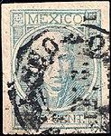 Mexico 1868 25c Sc68c used.jpg