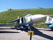 MiG 23 Kyiv museum