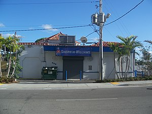 National Register of Historic Places listings in Miami - Image: Miami FL Atlantic Gas Station 01