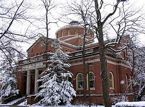 Miami University - Alumni Hall in winter