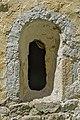 Micheldorf Lorenzenberg 68 Filialkirche hl Laurentius romanisches Fenster 07082014 107.jpg