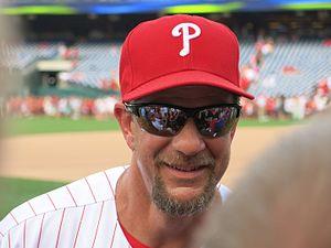 Mickey Morandini - Morandini with the Phillies in 2016