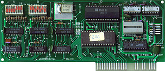 Plug and play - Image: Microdigital Super Serial Card SSC