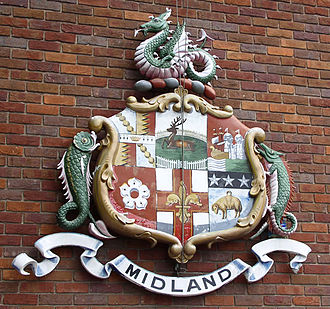 Northern Counties Committee - Midland Railway coat of arms.