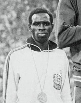 Mike Boit - Boit at the 1972 Olympics