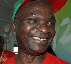 African Footballer of the Year - Roger Milla, two-time winner of the award given by France Football.