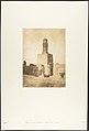 Minaret oriental de la Mosquée du Khalif Hakem, au Kaire MET DP131822.jpg