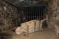 Minas de Almadén (RPS 21-07-2012) carretilla en una galería.png