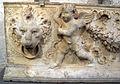 Mino da Fiesole, elemento decorativo, forse da antica basilica di san pietro, 1460 ca. 02.JPG