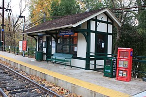 Manayunk/Norristown Line - Miquon station