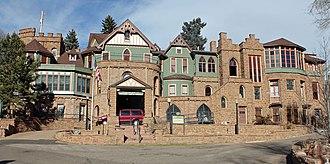 Miramont Castle - Miramont, also known as Miramont Castle and Montcalm Castle