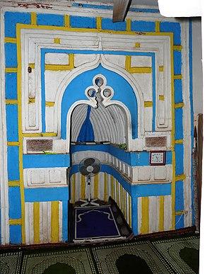 Mirhab de la mosquée de Tsingoni - panoramio.jpg