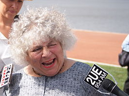 Margolyes in 2013