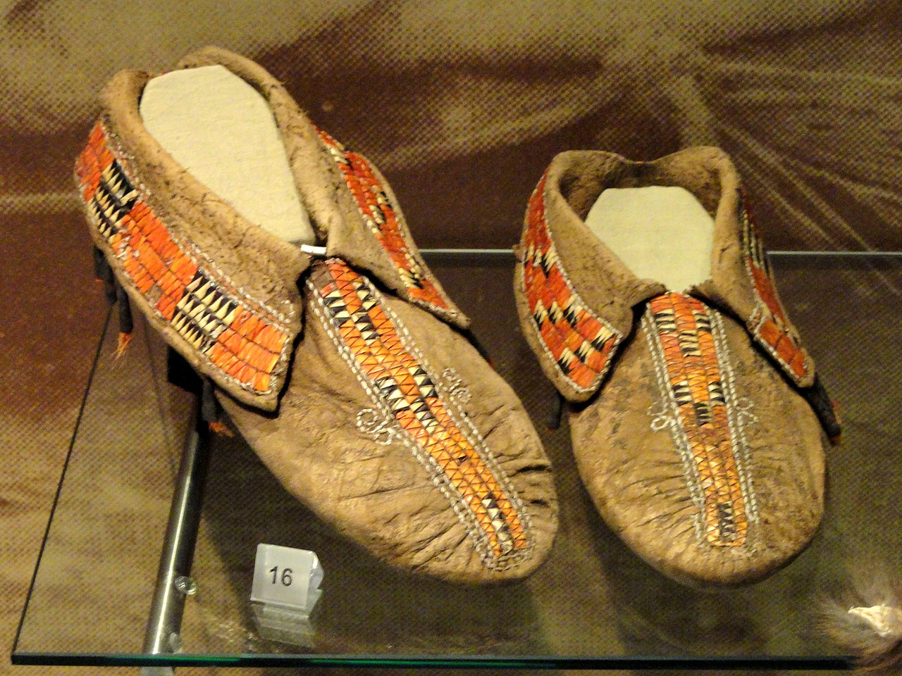 Traditional Leather Baby Shoes