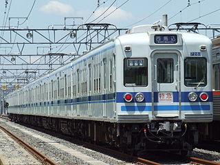 Hokuso 7260 series Japanese train type