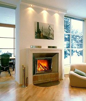Masonry heater - Modern masonry heater