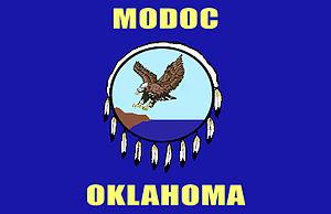 Modoc Tribe of Oklahoma - Image: Modoc Oklahoma Flag