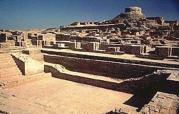 Excavated ruins of Mohenjo-daro