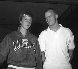 Molly Botkin and Jeff Farrell 1960.jpg