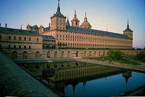 Spanish royal sites - Palace of San Lorenzo de El Escorial