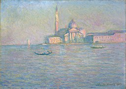 Monet, Claude - The Church of San Giorgio Maggiore, Venice - Google Art Project.jpg