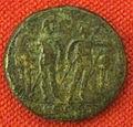 Monetiere di fi, moneta romana repubblicana con dioscuri 02.JPG