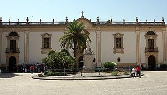 Monreale - Benedictine Monastery.