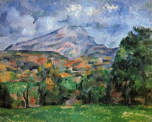 Montagne Sainte-Victoire, par Paul Cézanne 114