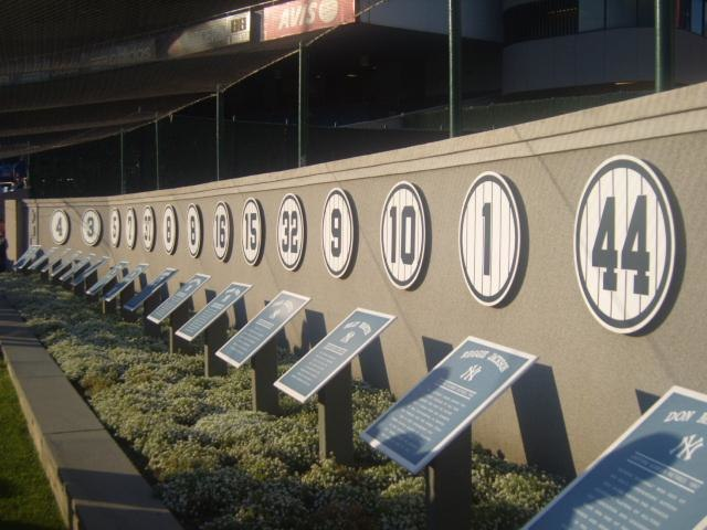 Monument park numbers
