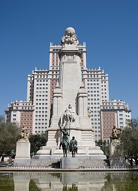 Image illustrative de l'article Plaza de España (Madrid)
