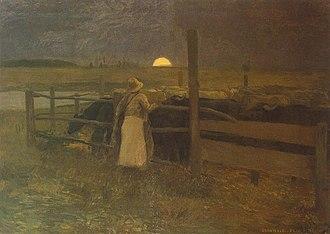 Béla Iványi-Grünwald - Image: Moonrise Grunwald