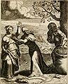 Moralia Horatiana, das ist, Die Horatzische sitten-lehre - aus der ernst-sittigen geselschaft der alten weise-meister gezogen, und mit 113 (i.e. 103) in kupfer gestochenen sinn-bildern, und eben so (14748346024).jpg