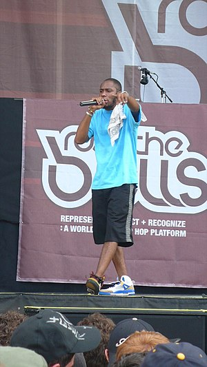 Mos Def - Mos Def performing at Rock the Bells in New York.