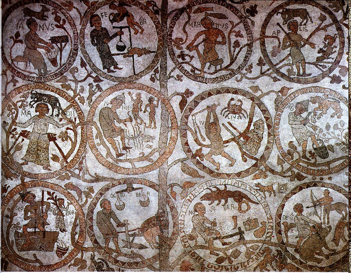 Mosaico di otranto wikipedia for Disegni unici del pavimento