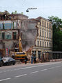 Moscow, Sadovnicheskaya 39 demolition June 2009 02.JPG