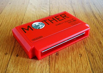 Mother (video game series) - A Famicom cartridge for the first game in the Mother series.