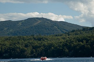 Mount Sunapee mountain in United States of America