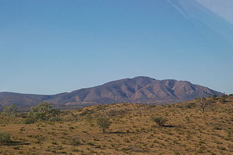 Vulkathunha-Gammon Ranges National Park - Mount McKinlay from the south