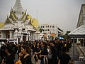 Mourning for King Bhumibol Adulyadej in front of the Royal Palace - 2017-10-13 (18).jpg
