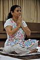 Mrs Manekar - Prayer - International Day of Yoga Celebration - NCSM - Kolkata 2015-06-21 7281.JPG
